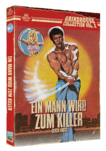 Grindhouse Collection Nr.1: Death Force  Ein Mann wird zum Killer