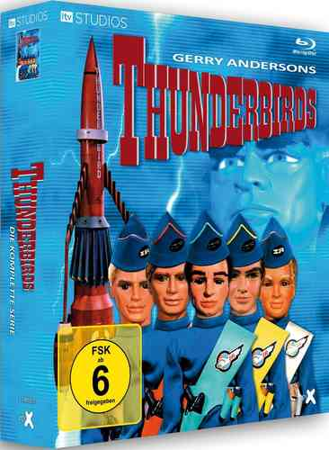 Thunderbirds BLU RAY Box