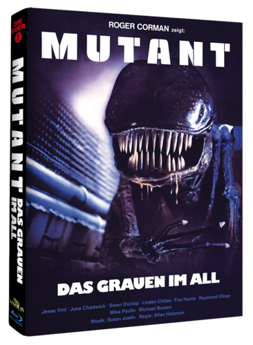 Mutant  Das Grauen im All  MEDIABOOK Cover A