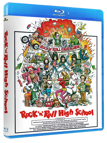 Rockn Roll High School  -BLU RAY-