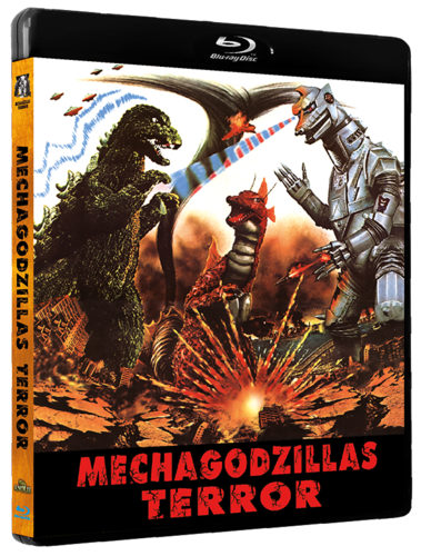 Mechgodzillas Terror -BLU RAY-